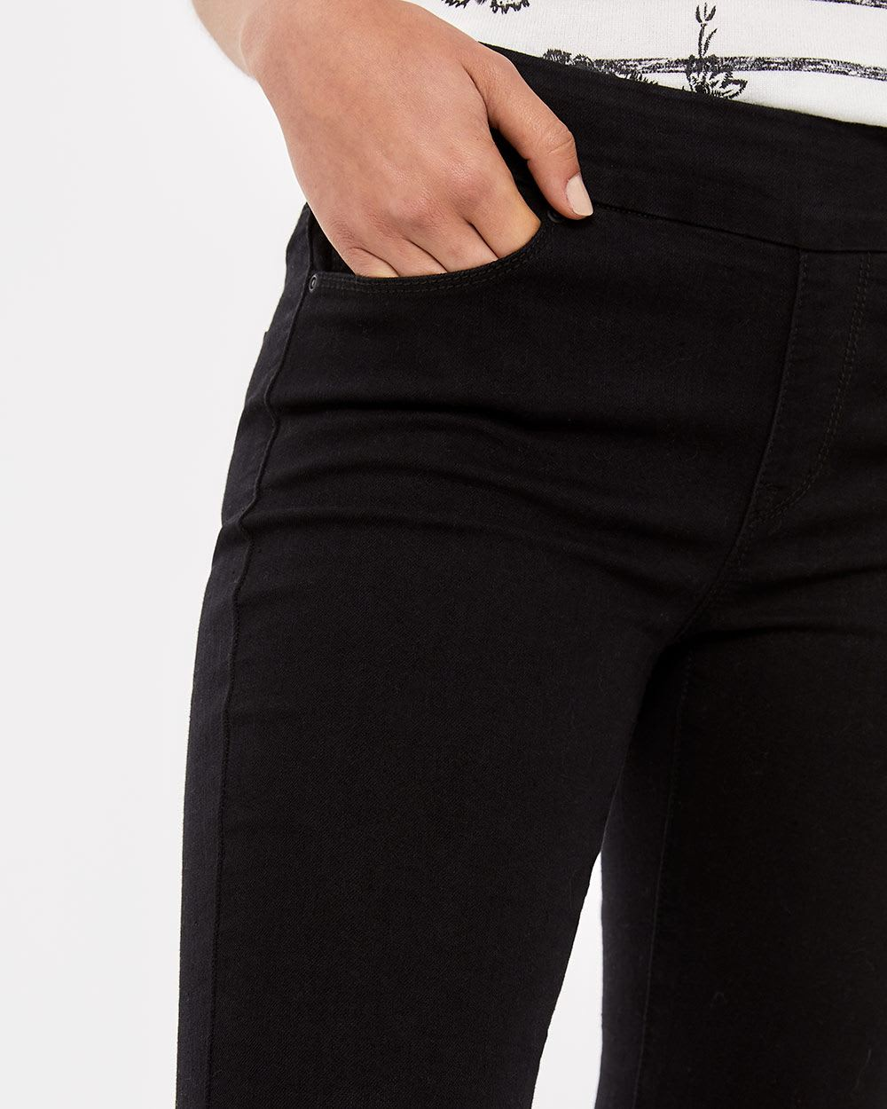 Jeans noir L'Authentique Confort Long