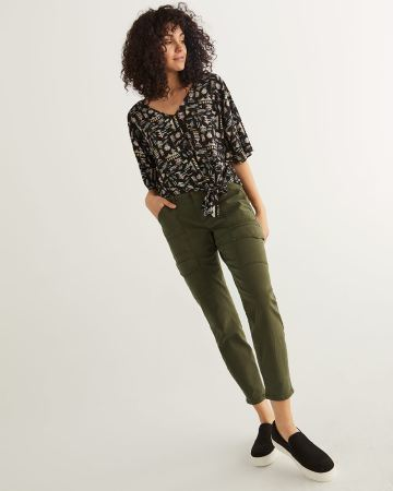 Skinny Ankle Cargo Pants