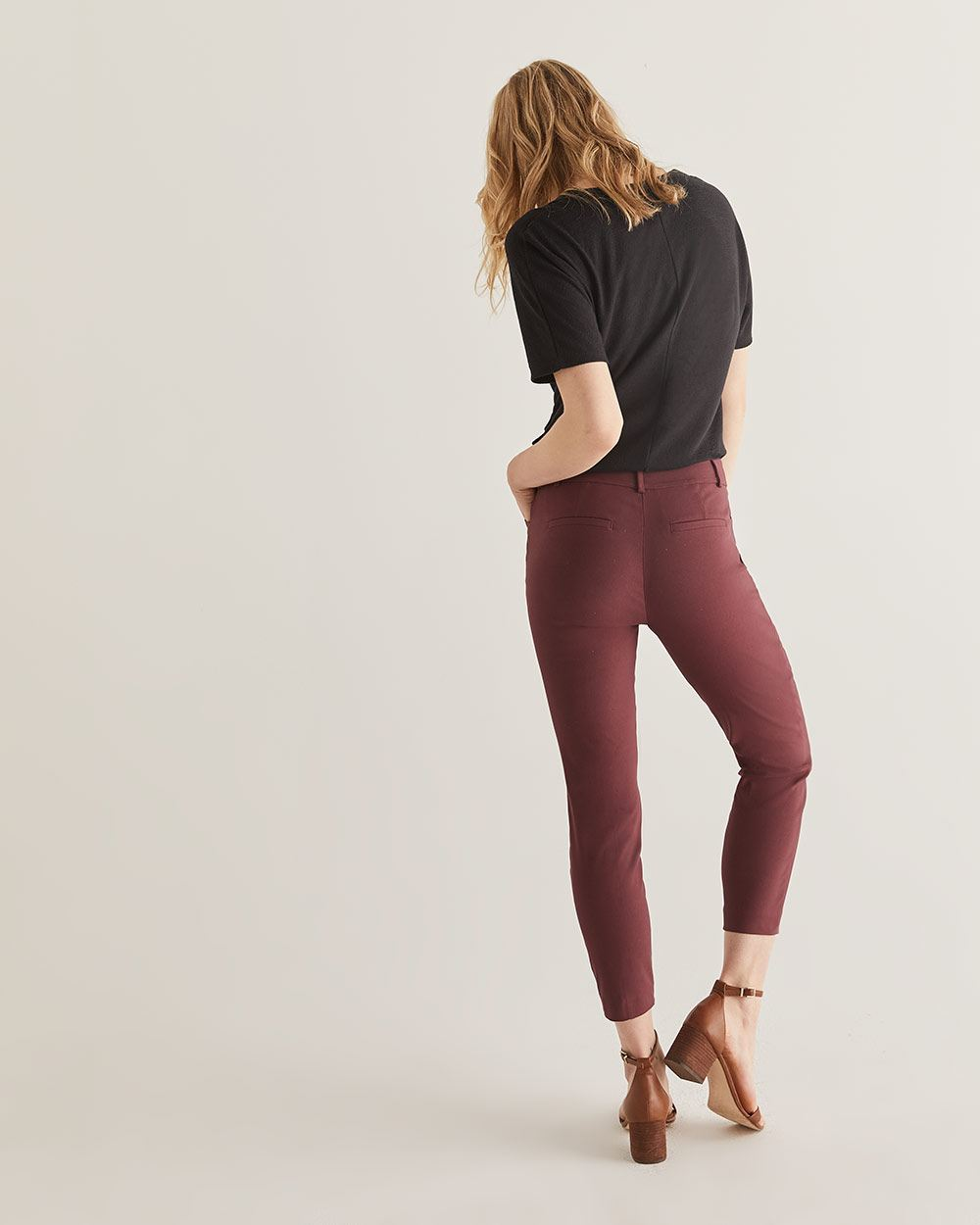 The Iconic Pull On Ankle Pants - Tall