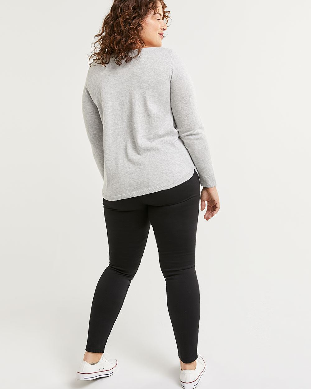 Long Sleeve Boat Neck Sweater R Essentials