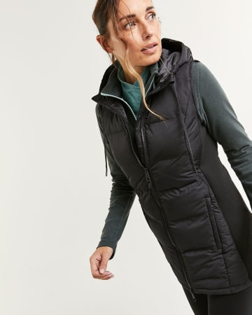Sleeveless Quilted Packable Jacket Hyba