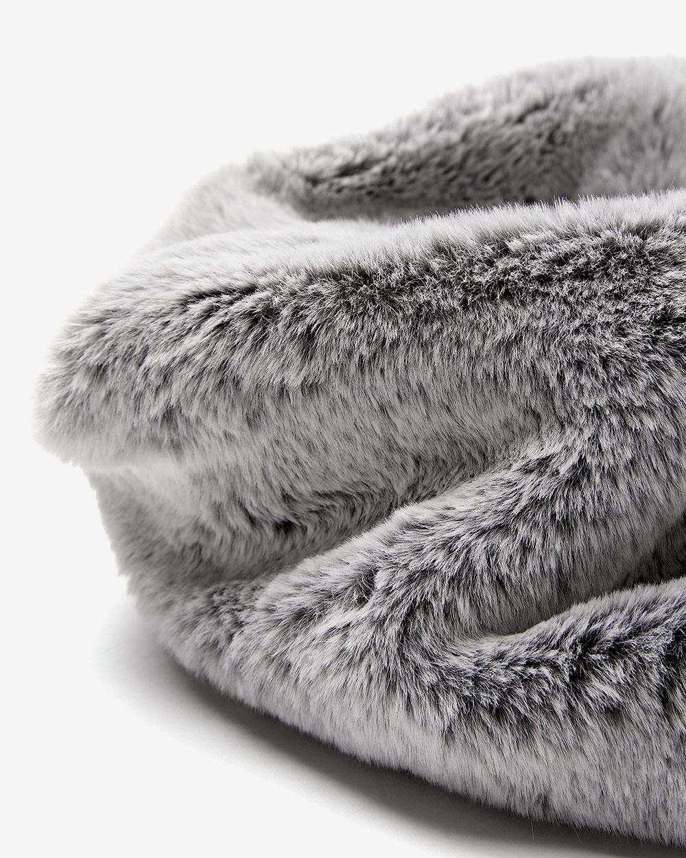 Funnel Fake Fur Scarf