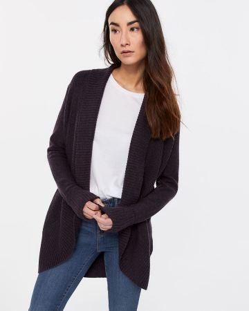 Cardigans Women Long Sleeve Cardigan Knit Snap Button Sweater cadd3567b