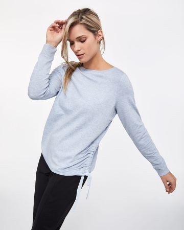 Hyba Shirring Sweatshirt