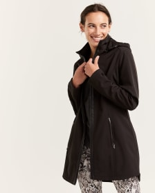Water Repellent Hooded Jacket