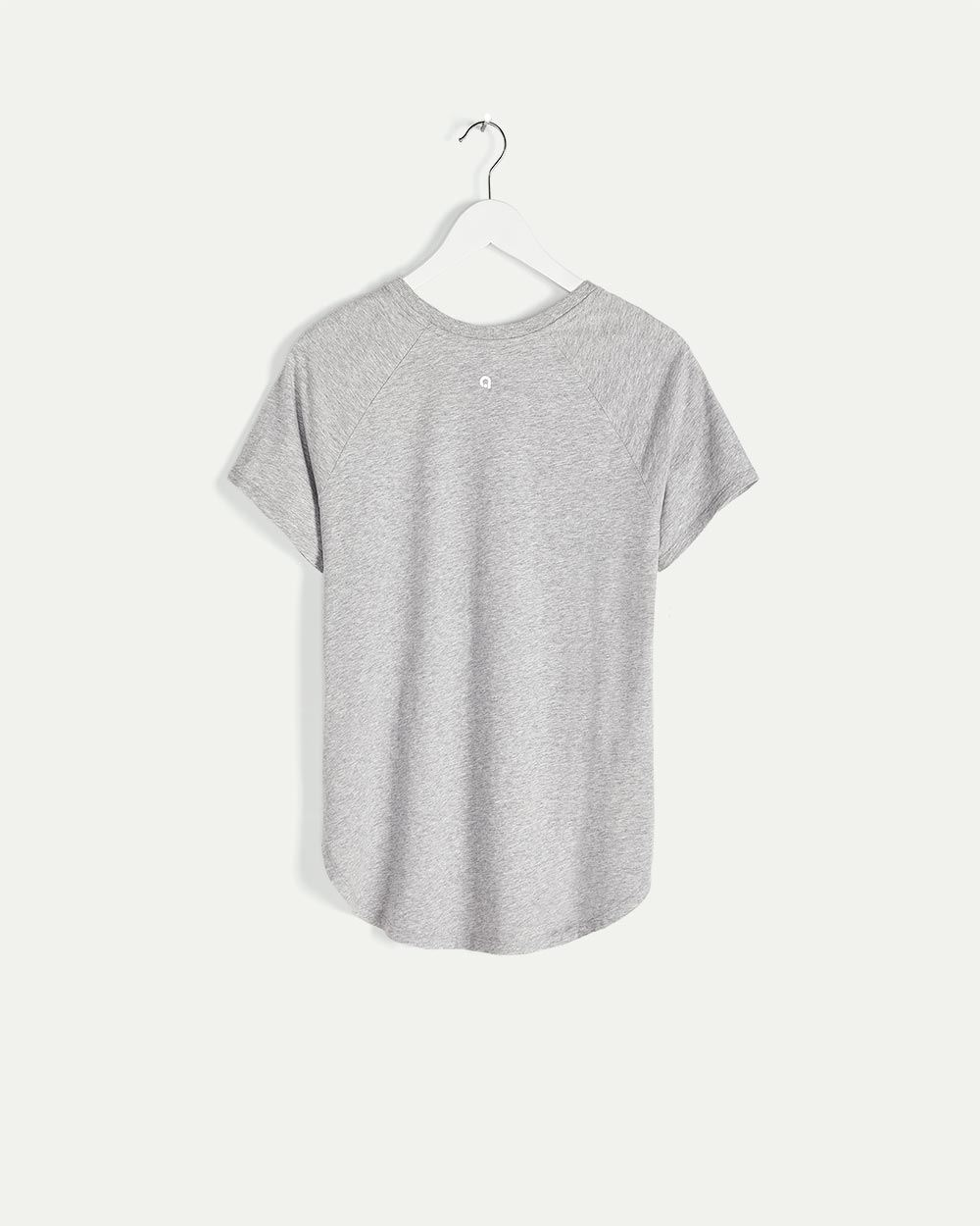 Organic Cotton Crew Neck Printed Tee Hyba