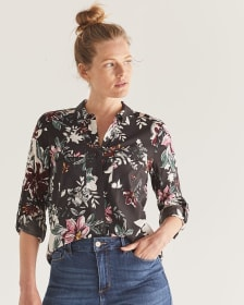 Printed Shirt with Pockets