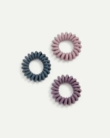 3-Pack Mini Chunky Hair Ties