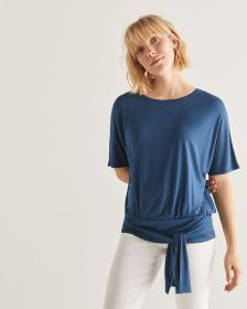 Dolman Sleeve Top with Knot