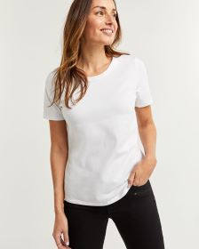Cotton Blend Short Sleeve Tee R Essentials