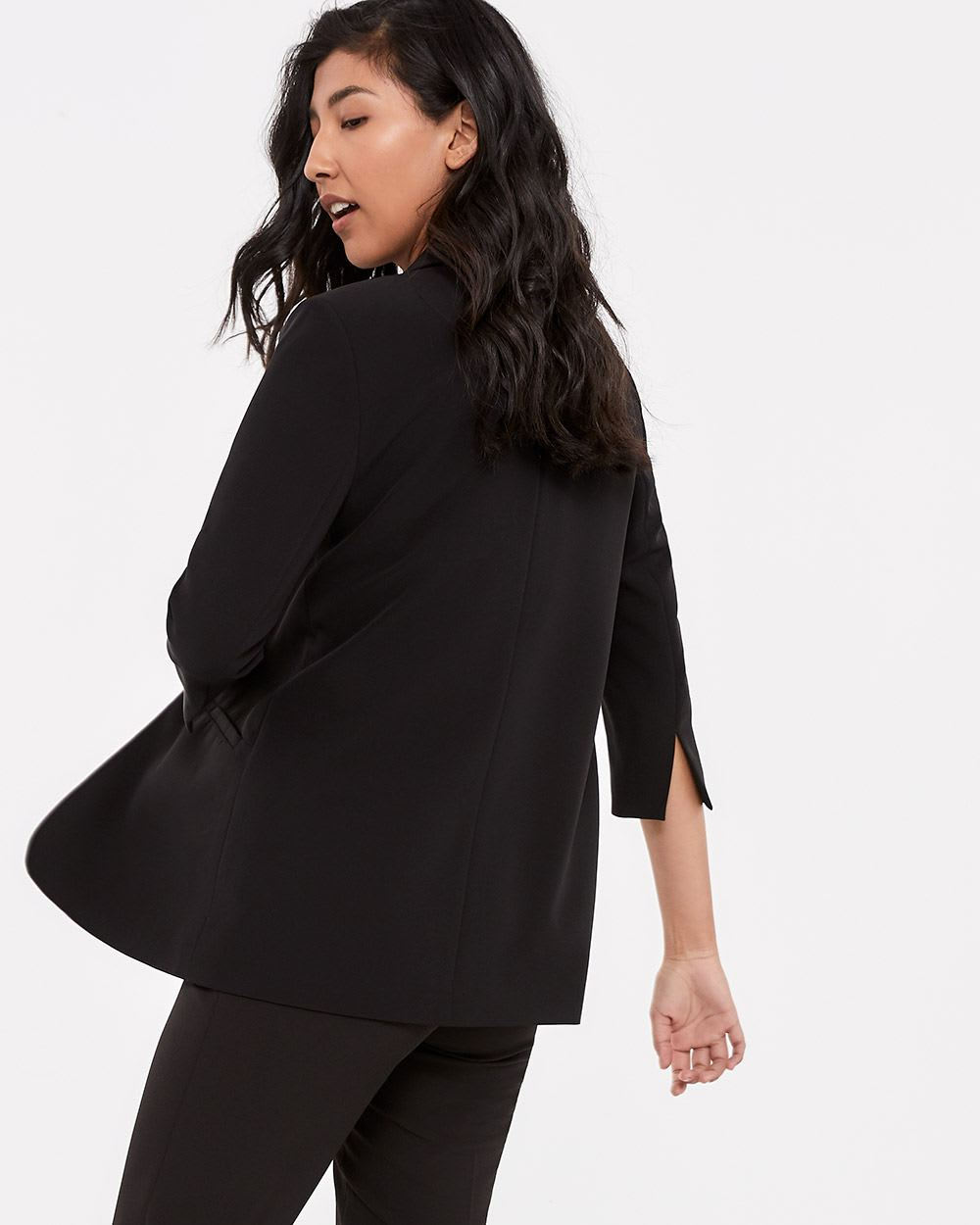 Willow & Thread ¾ Sleeve Open Blazer