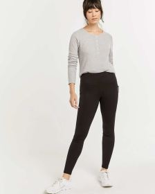 Hyba Black Thermal Legging