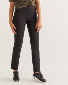 Hyba Black Straight Sculptor Pants - Tall