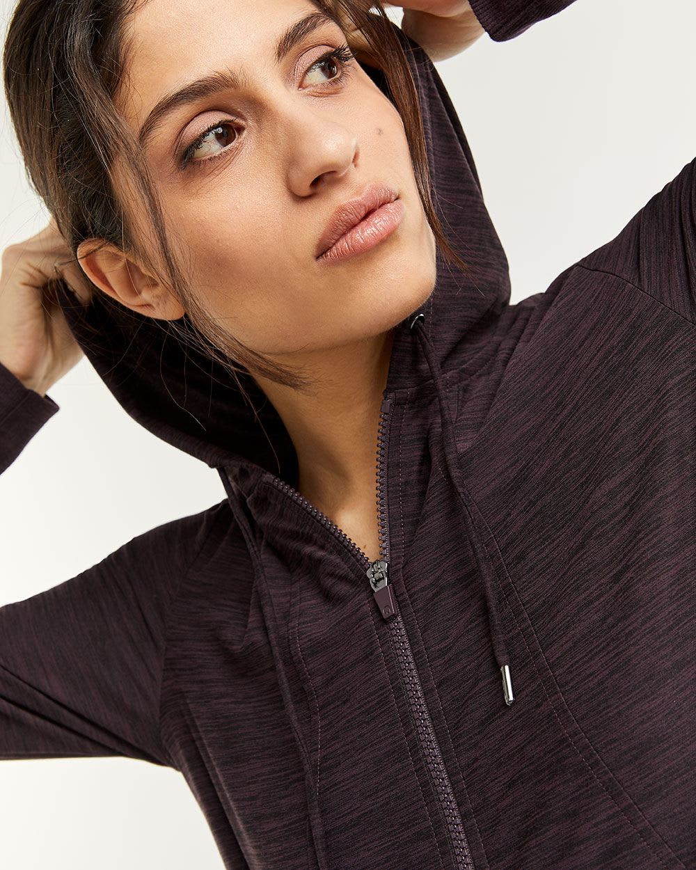 Ultra Soft Hooded Jacket with Pockets Hyba