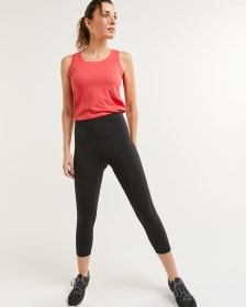 High Waist Capri Leggings Namaste Hyba