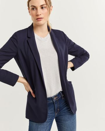 Open Knit Blazer