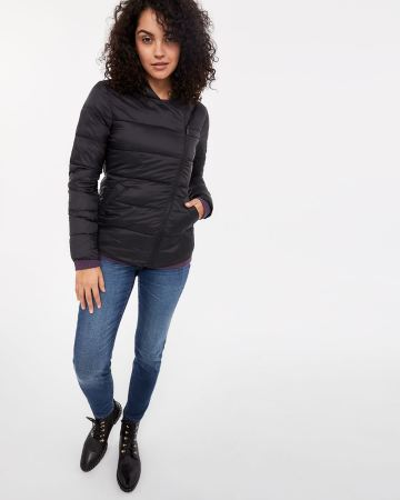 Manteau compressible à capuchon