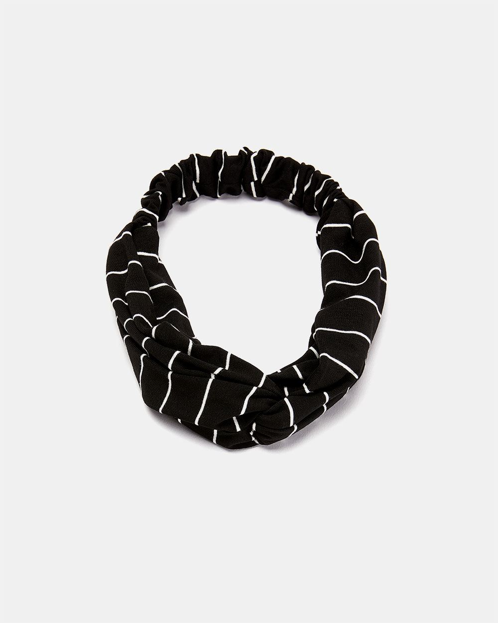 Black and White Striped Headband  54cd64c96ba