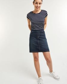Jupe-short en denim