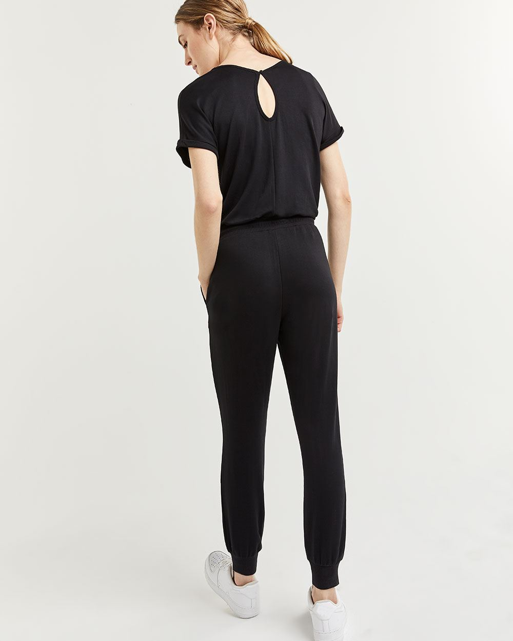 Ankle Jumpsuit with Drawstring Hyba