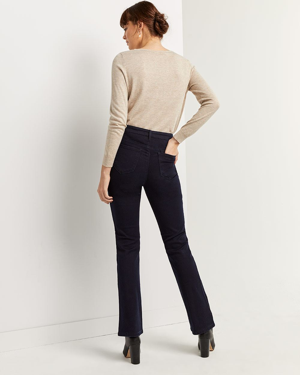 High Waist Bootcut Jeans The Signature Soft