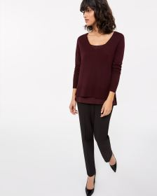Willow & Thread Long Sleeve Fooler Sweater