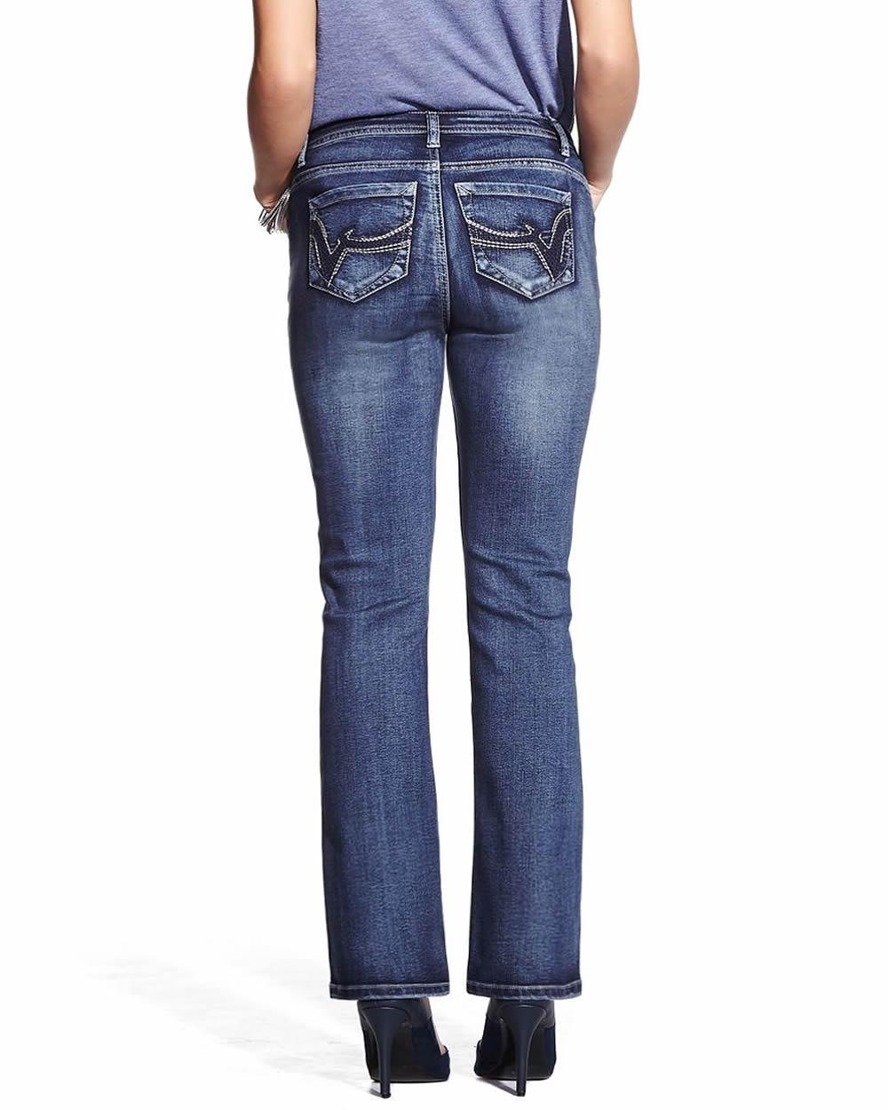 Petite Only Denim Boot Cut Jeans   Petites
