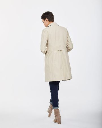 Manteau style trench