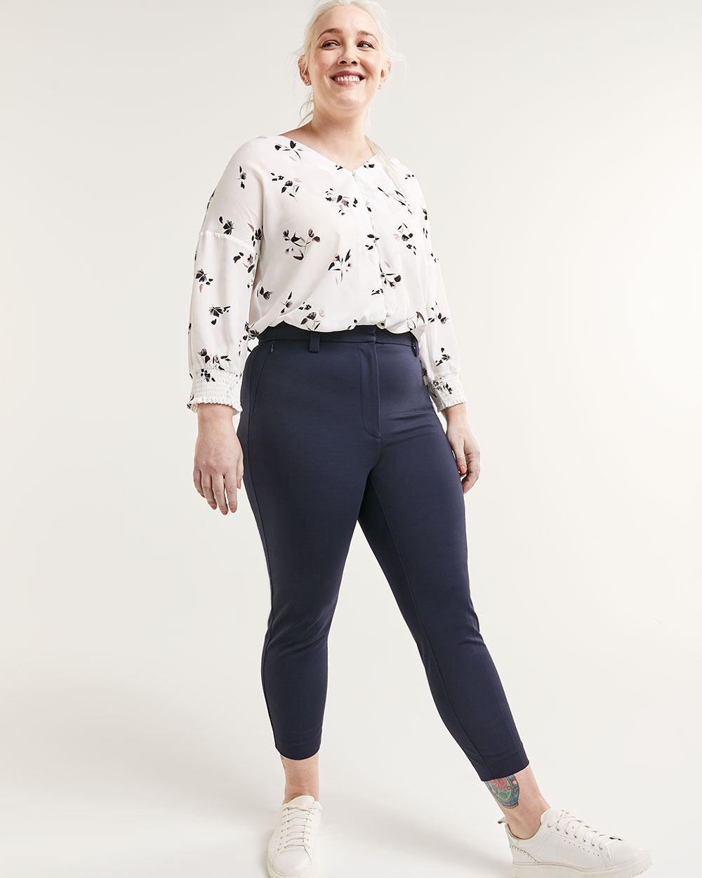 Super High Rise Ankle Pants The Curvy - Tall