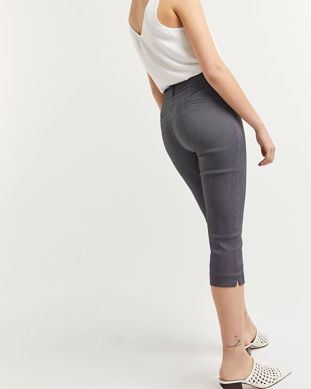 Herringbone Capri Pants The Iconic