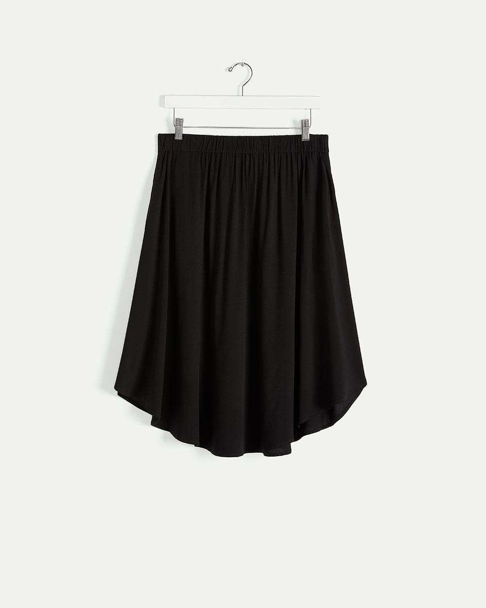 High-Low Skirt with Pockets