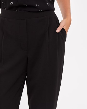 Tall Pleated Ankle Pants