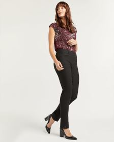The Iconic Jacquard Straight Pull On Pants - Tall