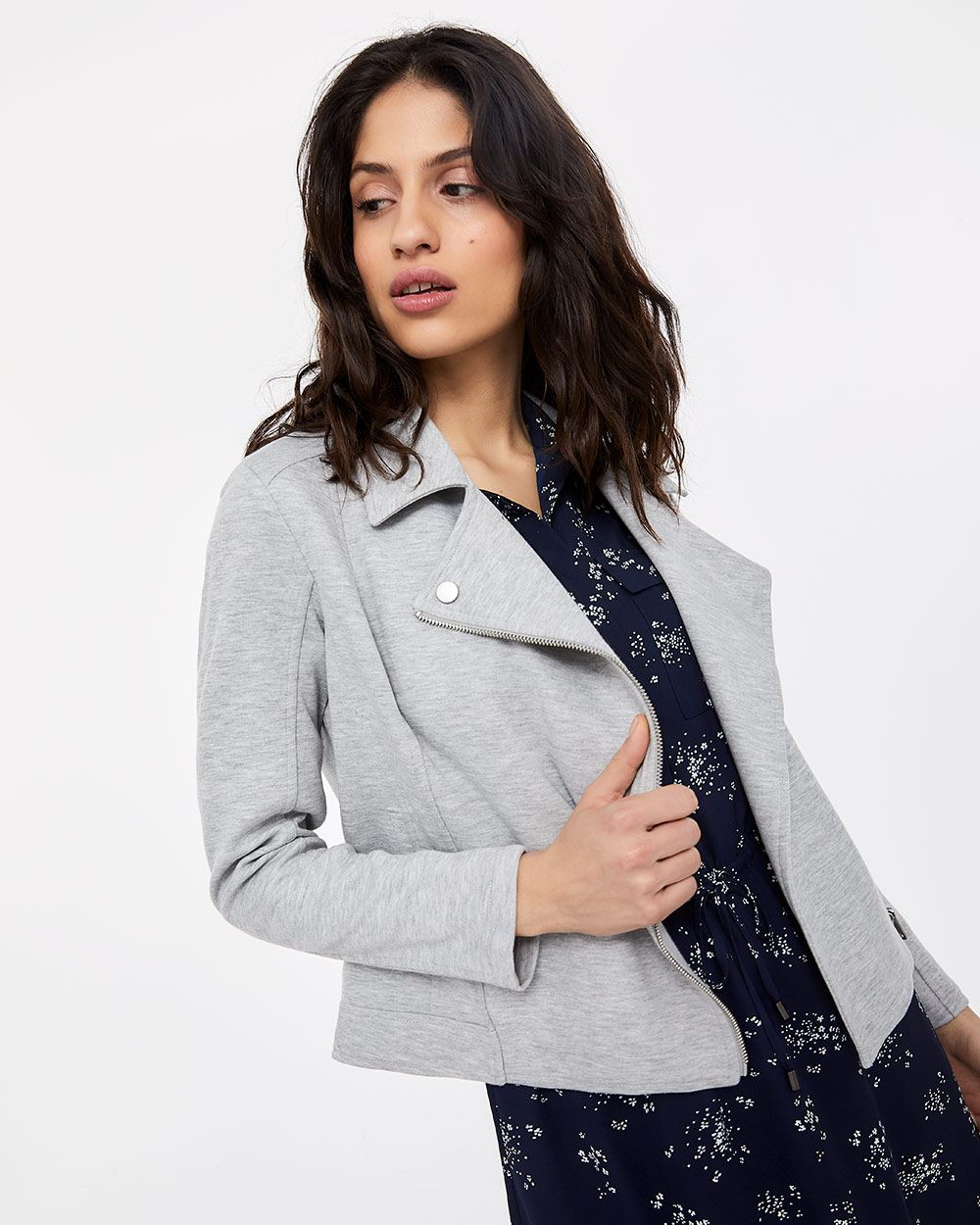 French Terry Perfecto Jacket