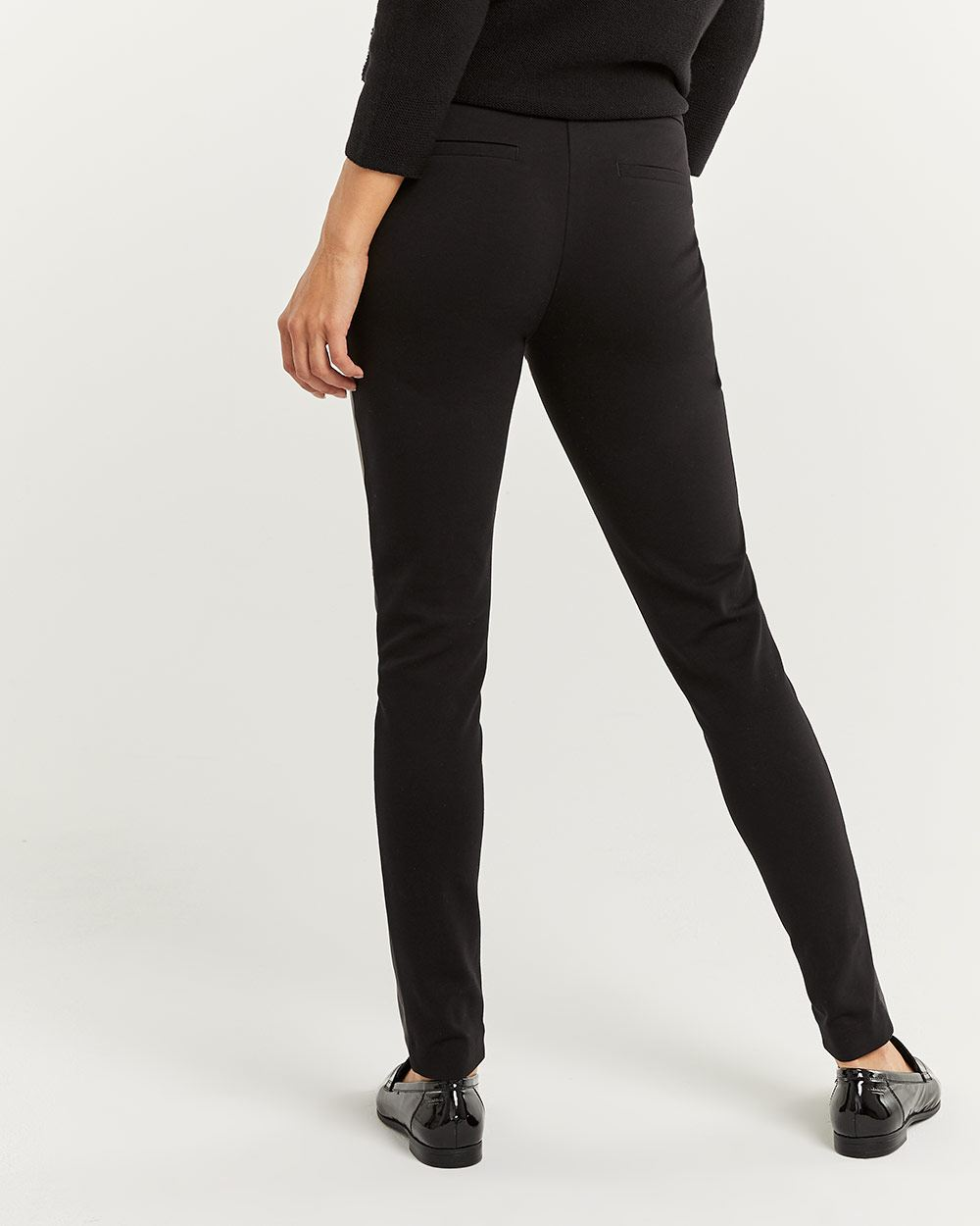 Faux Leather Leggings - Petite