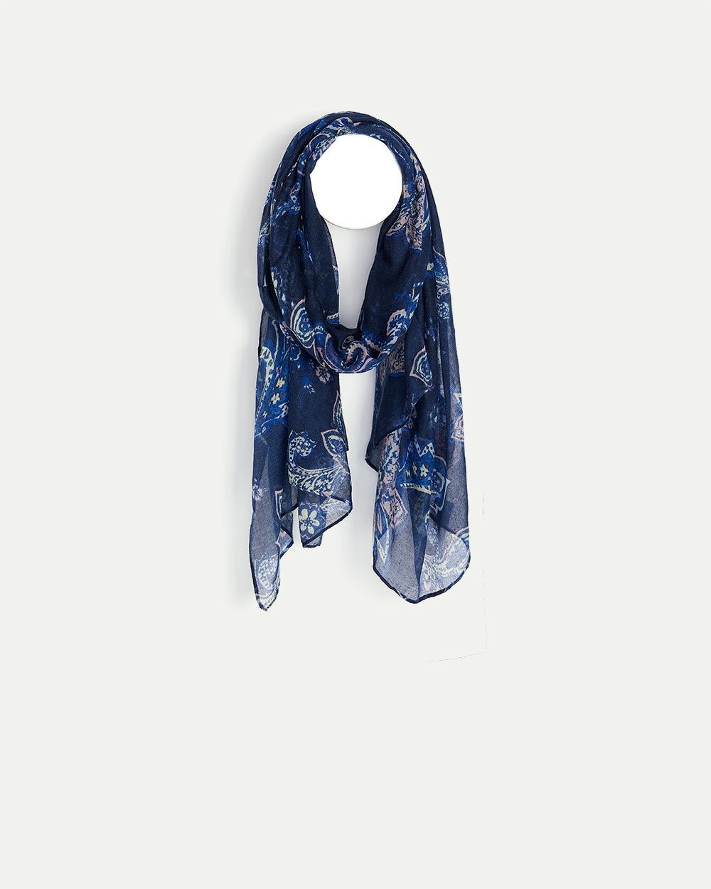 Oblong Printed Scarf