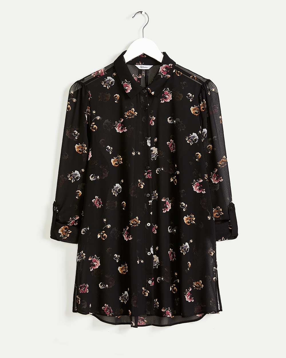 Long Sleeve Printed Shirt