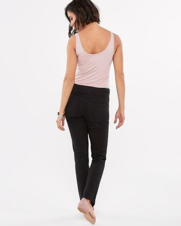 The Original Comfort Straight Leg Black Jeans