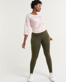 Cotton Blend Namaste Leggings Hyba