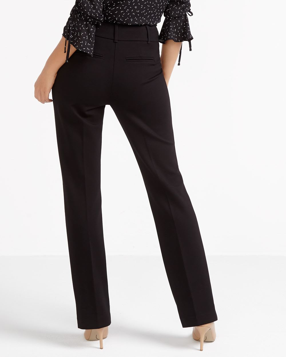 Tall Boot Cut Solid Pants