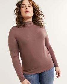 Long Sleeve Funnel Neck Tee