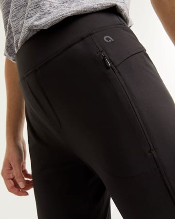 Slim Black Pants with Pockets Hyba