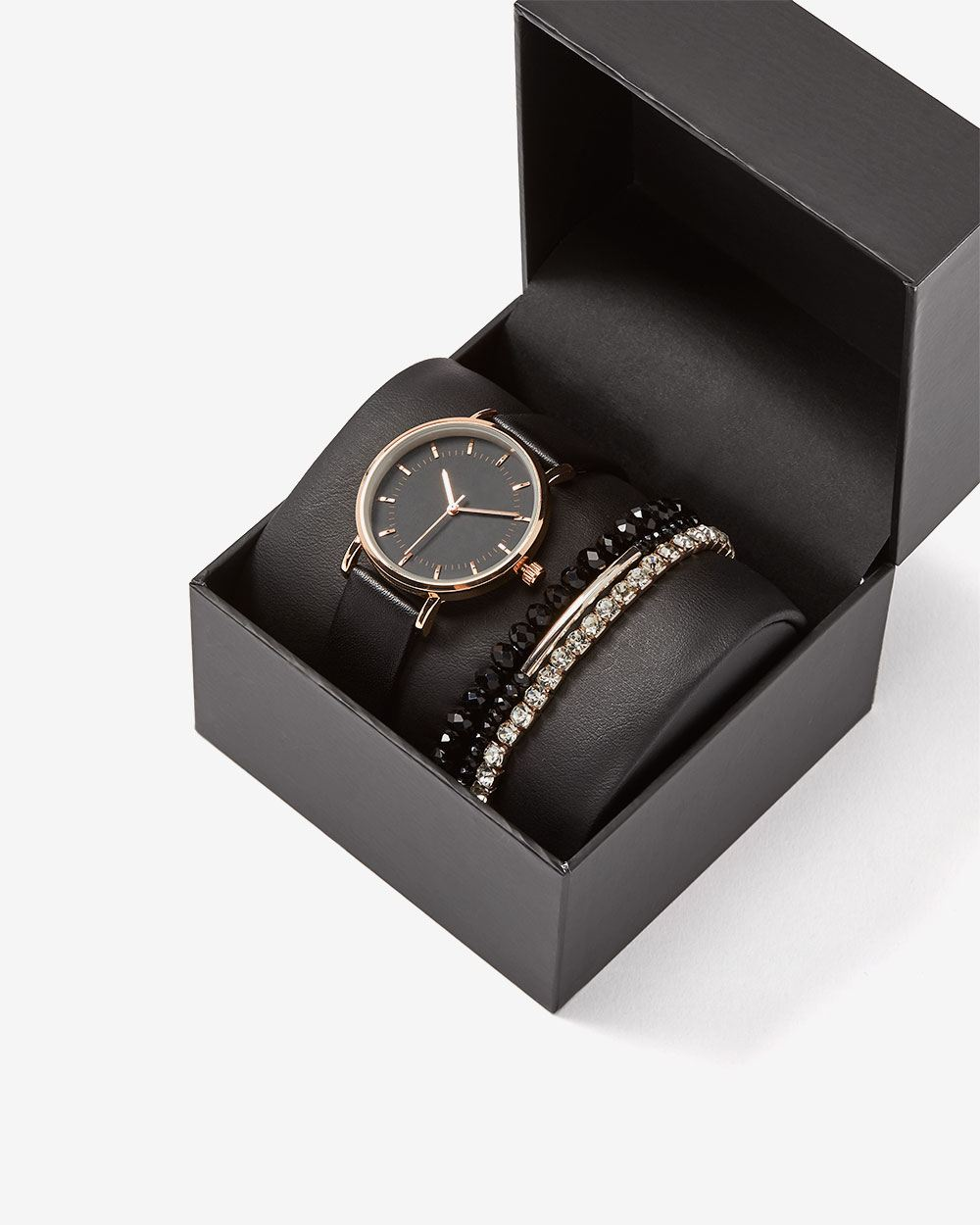 Watch and Bracelets Gift Set