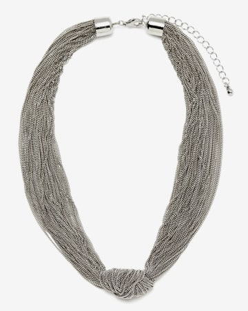 Short Knotted Necklace