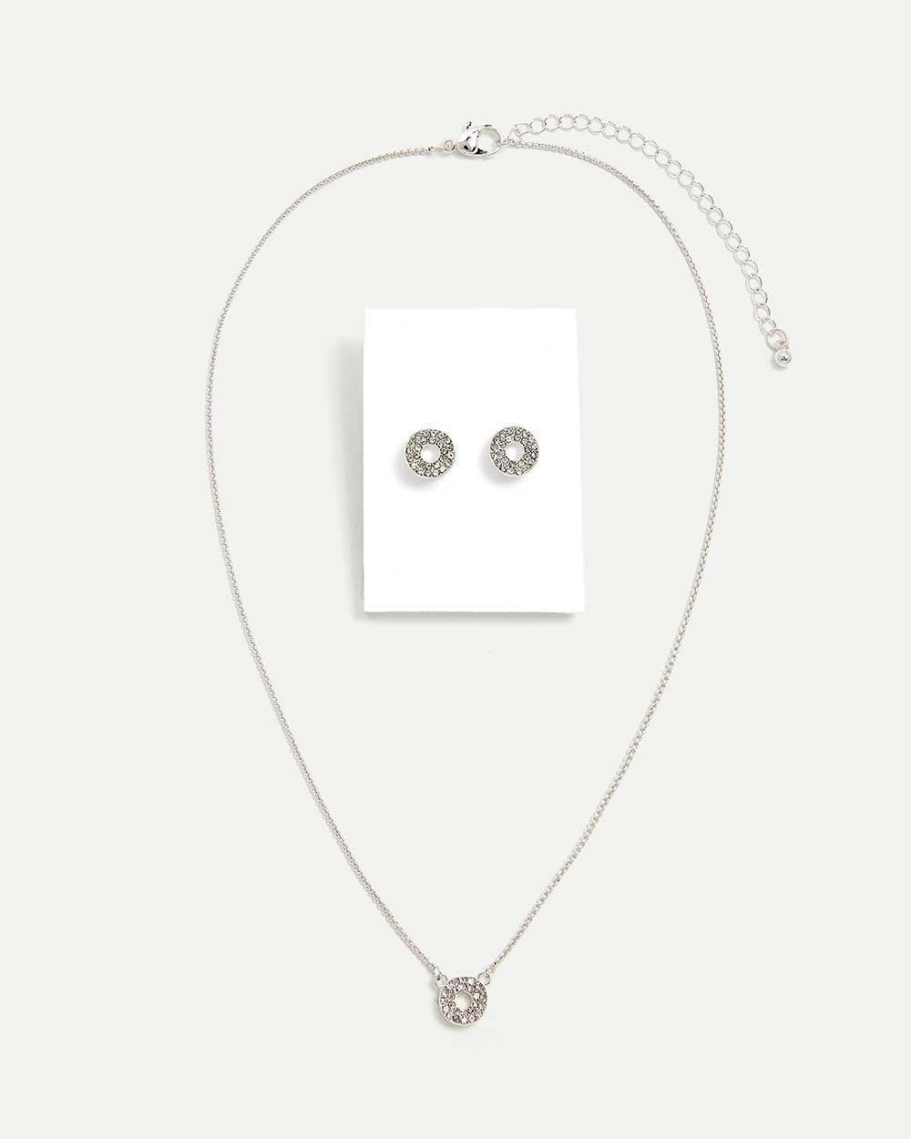 Mother's Day Necklace and earring Set