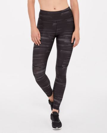 Hyba Reflective Printed Running Legging