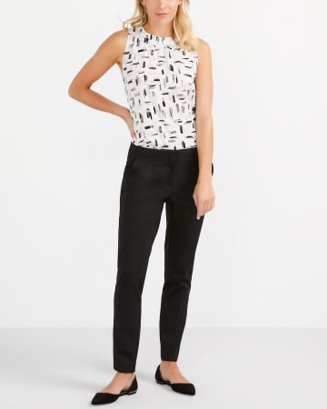 Willow & Thread Sleeveless Printed Top