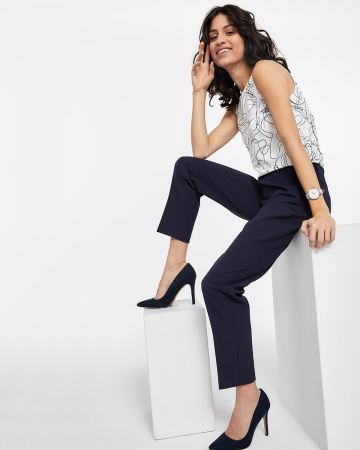 Willow & Thread Slim Tailored Pants
