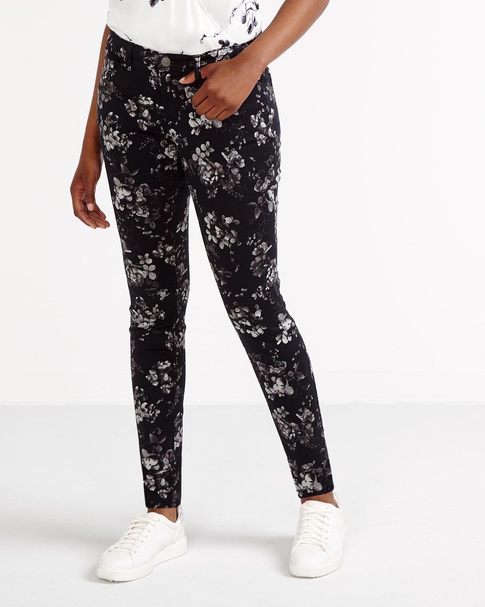4fffb8fe8dee Floral Skinny Pants | Women | Reitmans