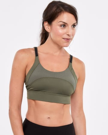 fe0ecd7ac1 Hyba Solid High-Support Sports Bra